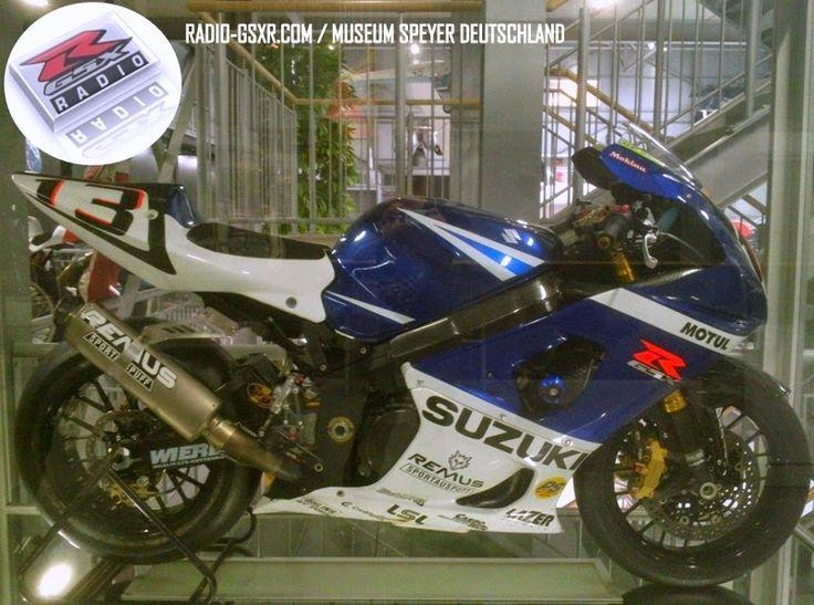 RADIO GSX-R, le blog sur les Suzuki GSX-R 1100,1000,750 et 600 de 1984 à 2014: TECHNIKMUSEUM SPEYER : SUZUKI GSX-R 1000 K4 ANDREAS MEKLAU