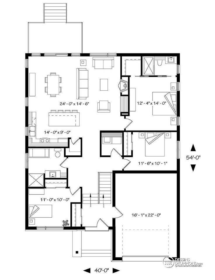 2504 best Home plan images on Pinterest House blueprints, House