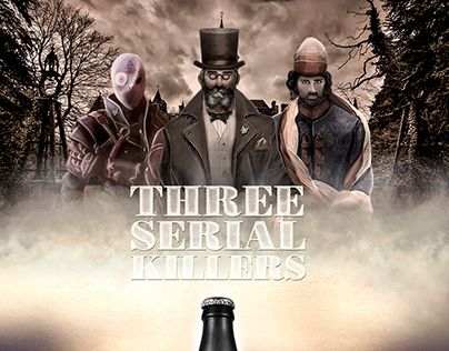 """Check out new work on my @Behance portfolio: """"Three Serial Killers"""" http://be.net/gallery/47363921/Three-Serial-Killers"""