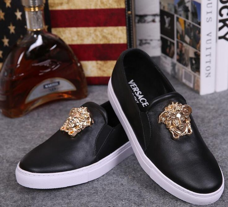 versace replica high quality AAA+ leather shoes men shoes women sneakers boots flats shoes casual shoes european size 38-46 price 82 dollars