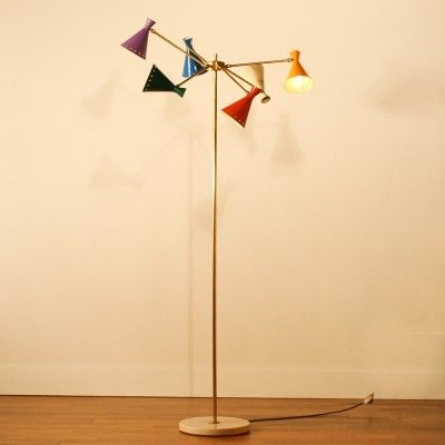 Floor Lamp by Unknown Designer for Arteluce