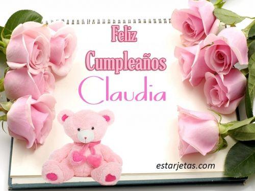 Feliz Cumpleaños Claudia 2