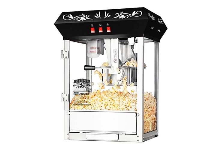 Popcorn Machine - Movie Theater Style: 56% Off -  http://moviebulb.com/2017/04/03/popcorn-machine-movie-theater-style-56-off/ #Coupons, #Deals, #Discounts, #Films, #Movies, #Sales