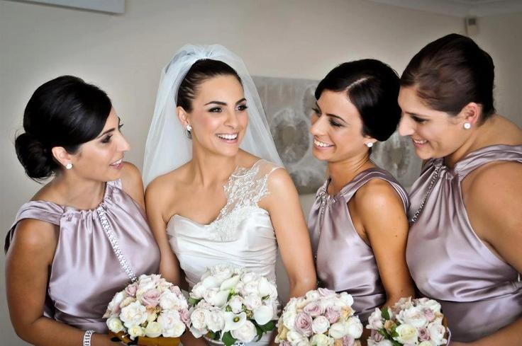 Beautiful bridal party.