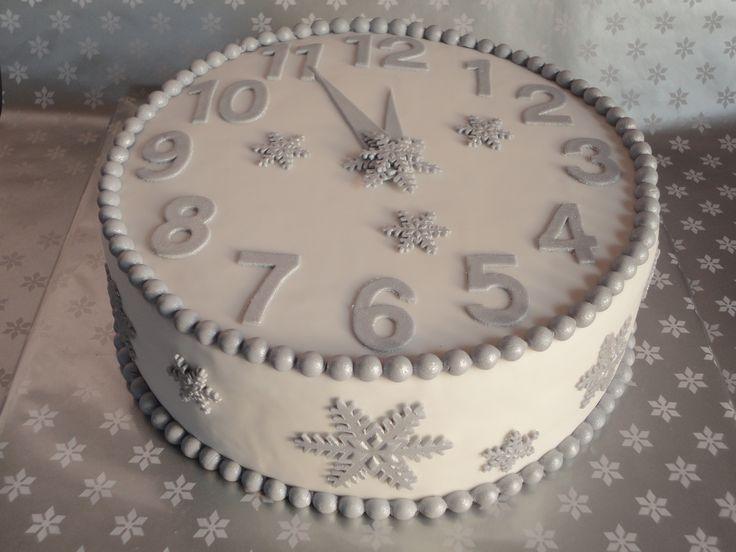 Oud en nieuw taart http://www.facebook.com/bakeanddeco
