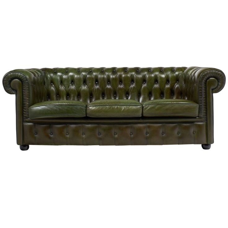 Popular English Vintage Green or Bronze Chesterfield Sofa New Design - Amazing Green Chesterfield sofa Style