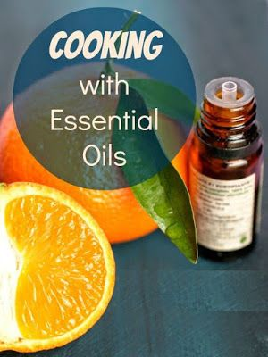 Use lemon essential oil when cooking for Fish oil for cooking