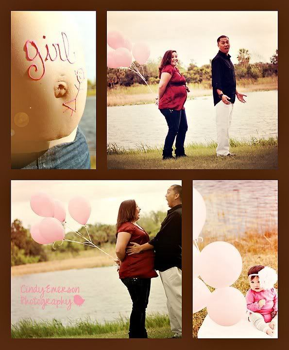 gender reveal photos | Gender reveal announcement! - February 2011 Birth Club - BabyCenter