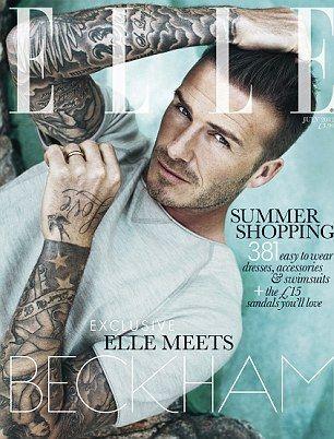David Beckham Don't mind if I do!!!