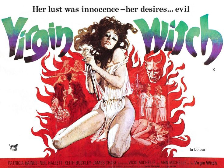 Vicki Michelle plays the part of Betty in Virgin Witch