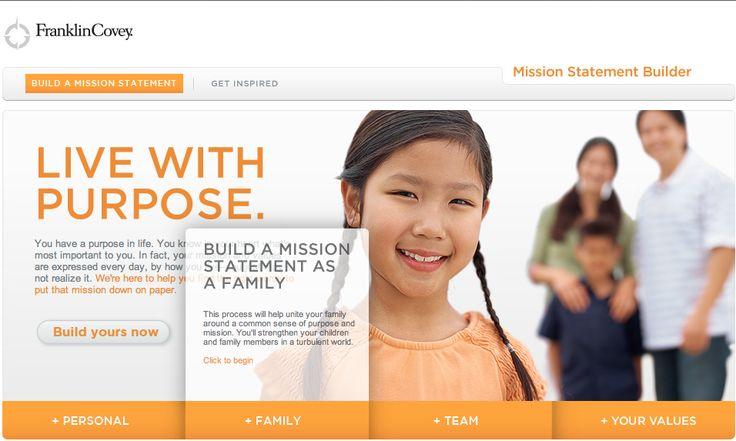 Construya su Enunciado de Misión Familiar