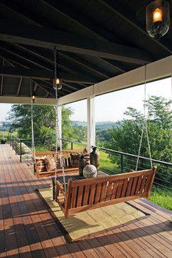 Modern Farmhouse - traditional - porch - omaha - Curt Hofer & Associates