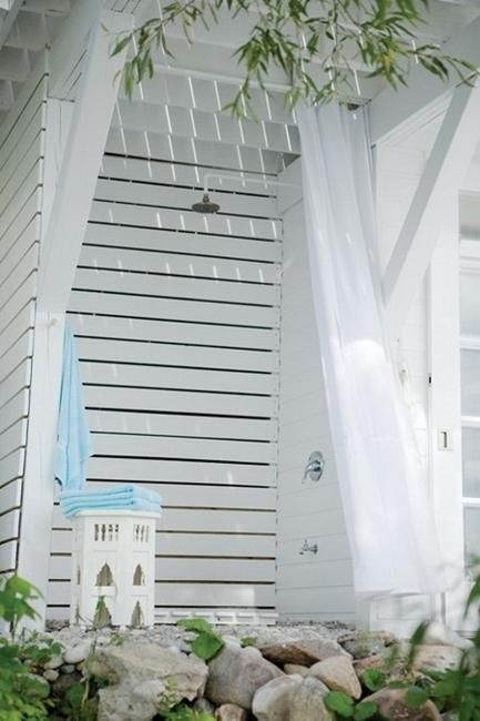 1000 ideas about outdoor shower enclosure on pinterest