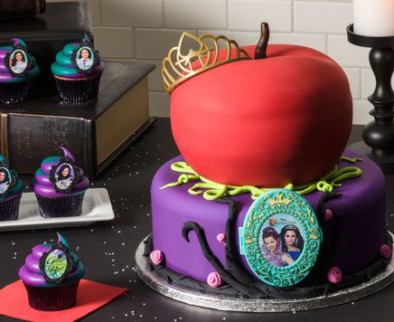 How-To Make a Disney's Descendants Rotten to the Core Cake