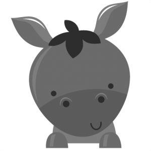 Freebie Donkey SVG file for scrapbooking donkey svg cut file free svgs free svg files cute svg cuts