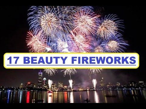 17 Beauty Fireworks, kembang api terindah tahun baru, A new year and a day other big days is a moment awaited by many people. The celebration of the big day ...