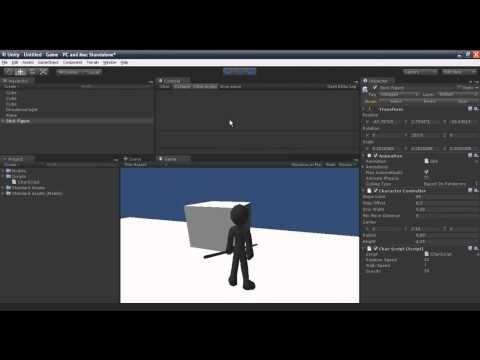 Unity Tutorial: Movement - YouTube