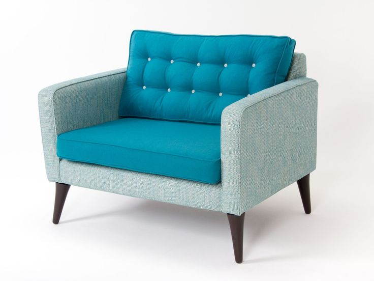 Snuggle up in our Brewers at Home Heyworth Snuggler Chair.