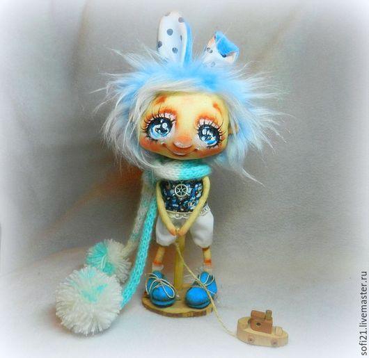 Коллекционные куклы ручной работы. Ярмарка Мастеров - ручная работа. Купить Зимой ей снилось море.... Handmade. Комбинированный