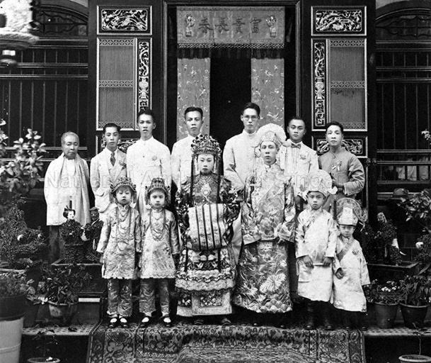 A STRAITS CHINESE WEDDING PHOTO