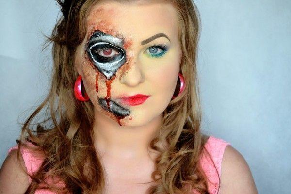 makeup, makeupart, artist, makijaż, charakteryzacja, wizaż, makijaż na każdą okazję, makijaż oka,  MAKIJAŻ, czrownica, hallowen makeup, MAKIJAŻ CZAROWNIACA WITCH MAKEUP HALLOWEEN robot