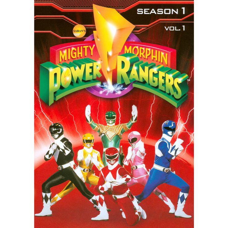 Mighty Morphin Power Rangers: Season 1, Vol. 1 [3 Discs]