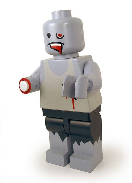 LEGO Zombie Minifigure #Marketing