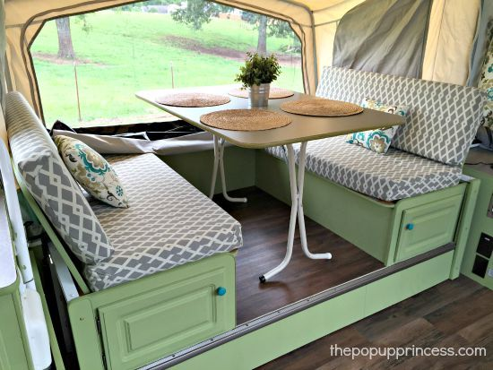 Felicia's Pop Up Camper Makeover - The Pop Up Princess