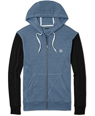 Volcom Hoodie, EDS Slim Hooded Shirt - Mens Hoodies & Track Jackets - Macy's