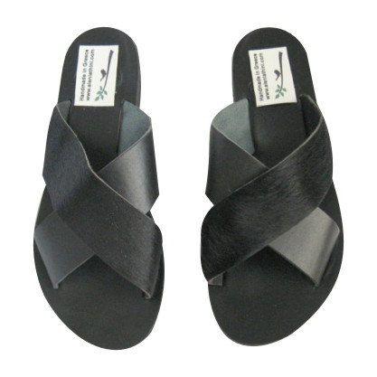 SALE! Maat 4,5 -6 U.S./35-36 EU lederen sandalen! Griekse lederen sandalen, riem lederen sandalen /leather sandalen,