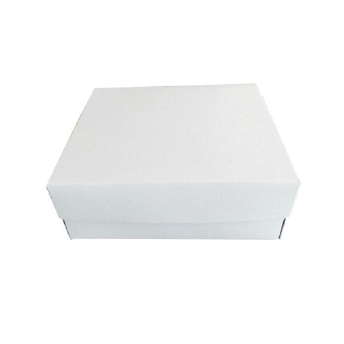 Κουτί χάρτινο  με επένδυση λαδόκολλα  22x22x8   Εφοδιαστική