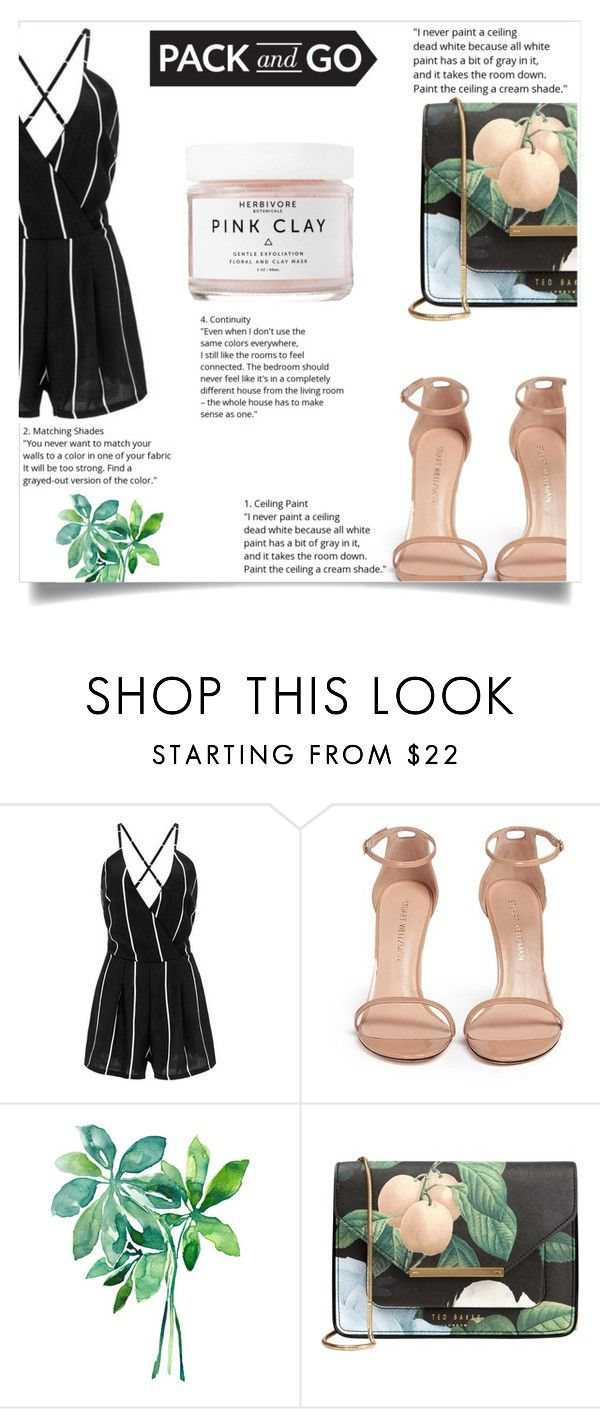 """""""Labor Day"""" by eirini-kastrou on Polyvore featuring Stuart Weitzman, Ted Baker and Herbivore"""