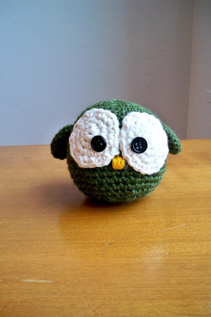 Crochet Owl/ virkattu pöllö