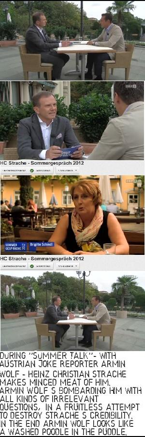 https://plus.google.com/u/0/101700768890016369861/posts  - Heinz Christian Strache - ein Gegner den man nicht so leicht unterkriegt - speziell mit dummer Fragerei - er ist dem Herrn Wolf haushoch überlegen  #hcstrache #FPÖ #Wien #Österreich #ORF
