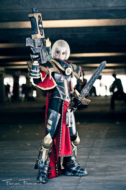 Cosplay warhammer 40000 Japan Expo 12 2011 |~ Adeptus Soroitas (Sisters of Battle)