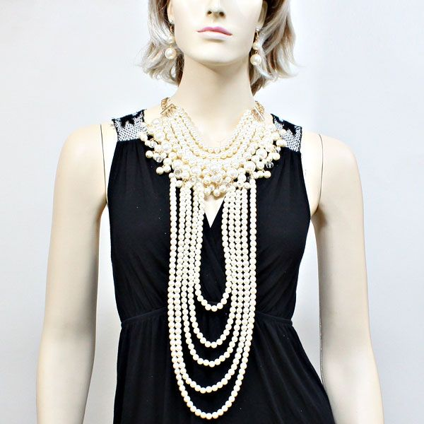 37 best pearl necklaces images on pinterest fashion