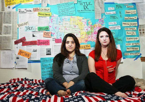 """Activists at Colleges Network to Fight Sexual Assault"" - An amazing article about two brave activists fighting for better legal protection and justice for students on college campuses.   Full article can be read at http://www.nytimes.com/2013/03/20/education/activists-at-colleges-network-to-fight-sexual-assault.html?pagewanted=all&_r=1"