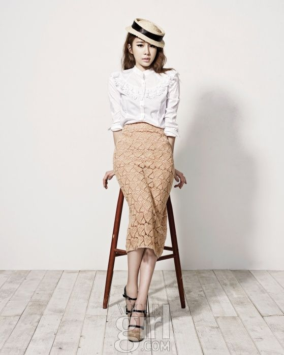 핑크 윙즈 캠페인의 뮤즈 - 유인나 :: Vogue Girl