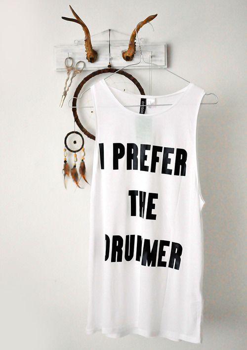 i prefer the drummer | Tumblr