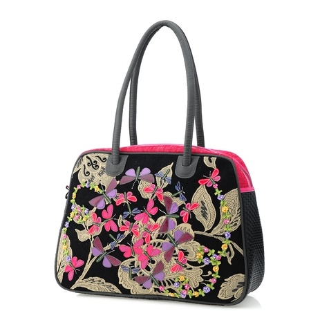 ~Spencer and Rutherford~Butterfly~Tote~