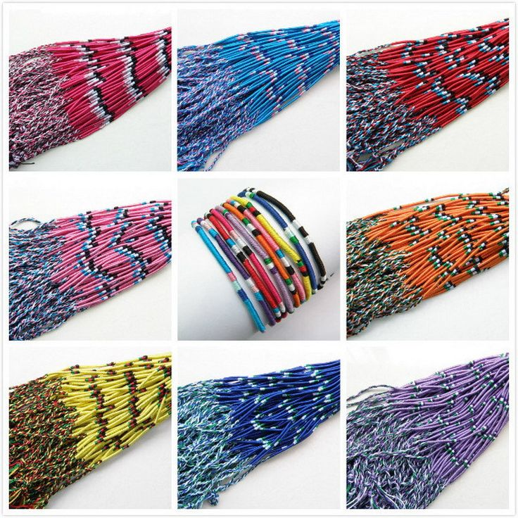Wrap Bracelets 100pcs string Bracelets & charm Bangle Handmade Round Rope RASTA Hobo Wax String Bracelet Handmade,High Quality bracelet thread,China bracelet designs with beads Suppliers, Cheap string life from Dux Ornaments(diy earrings cartilage earring) on Aliexpress.com
