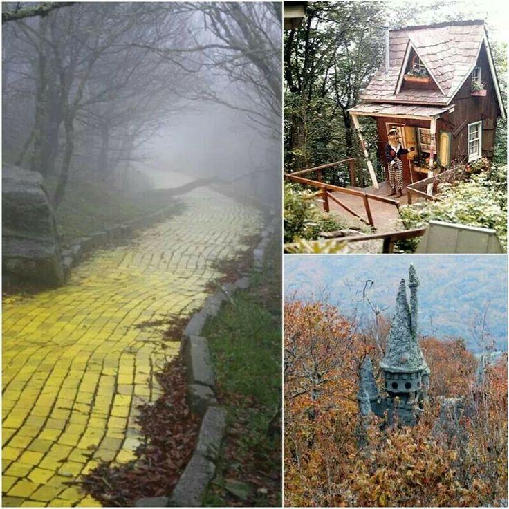 Abandoned Land Of Oz Theme Park