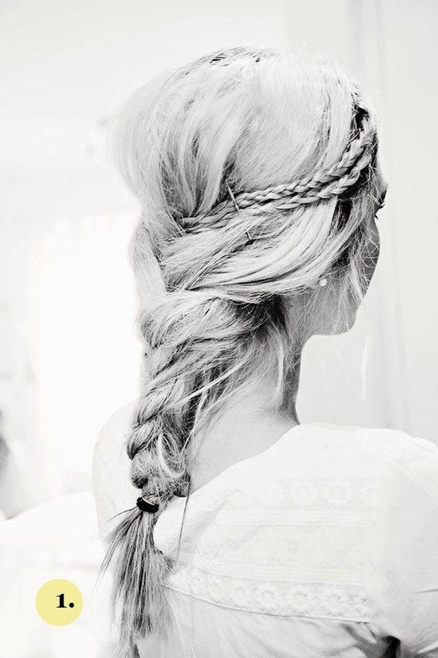 Trendy Wedding ♡ blog mariage • french wedding blog: {coiffure de la mariée} Le cheveu hippie-hipster