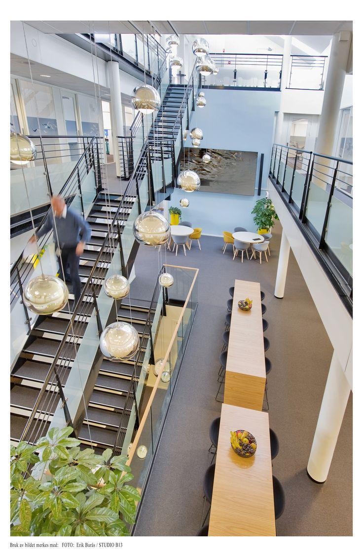 Pronova. Corporate office designed by Metropolis arkitektur & design. www.metropolis.no