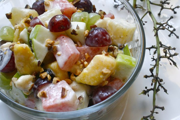 Bionico (Mexican fruit salad)