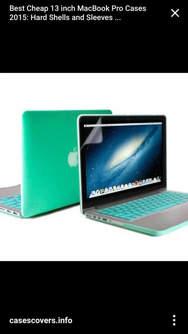 MacBook Pro 2015 covers mint green