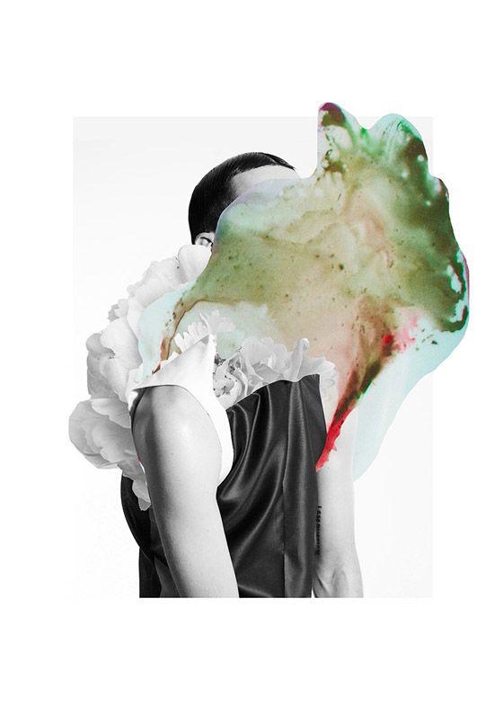 Ernesto Artillo for SixLee • #abstract #portrait #art #deformation #distortion #colors #design #face #man #collage