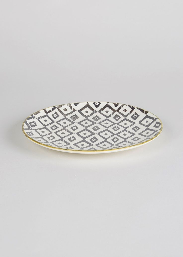 Tribal Side Plate (23cm)