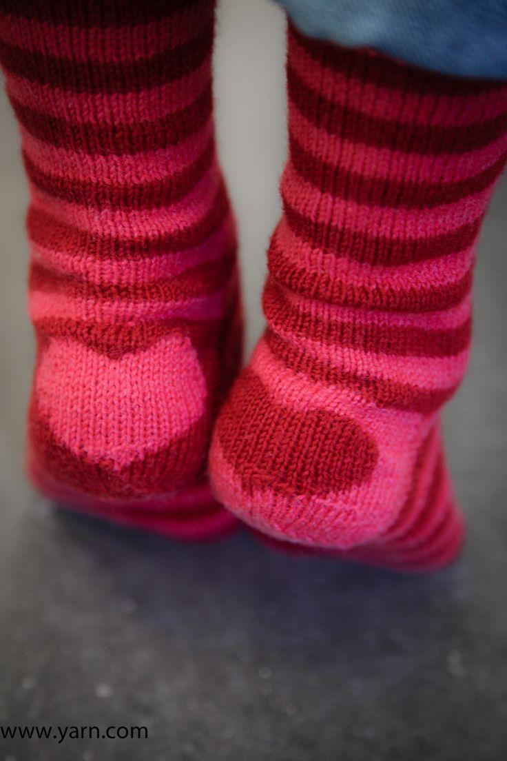 LoveSocks by Devon Clement knit in Spud and Chloe Fine