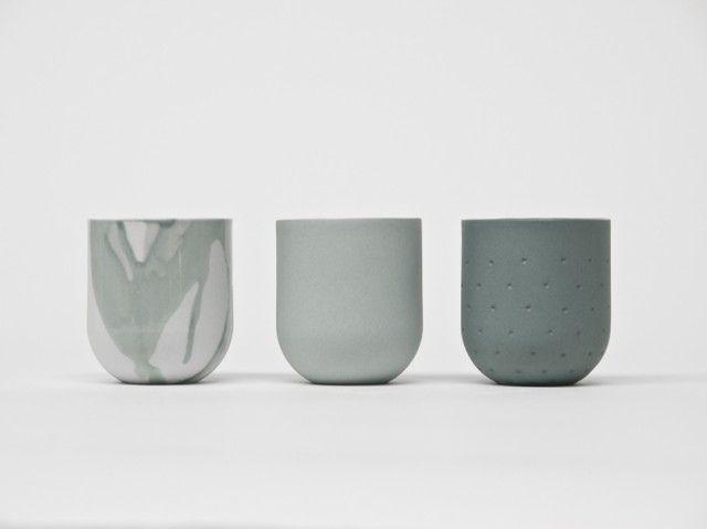 'SUM' is a colorful collection of porcelain cups - De Intuïtiefabriek
